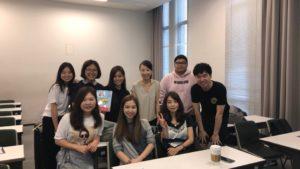 Yonsei University Classroom SP18 Zihan Gao