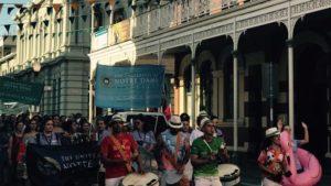 UNDA parade